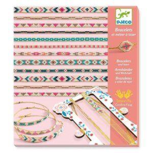 Djeco Κατασκευή κοσμημάτων - Βραχιόλια με μικρές χάντρες Κωδικός: 09838