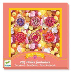 Djeco κατασκευή κοσμημάτων με διάφορες χάντρες 'Λουλούδια' Κωδικός: 09854