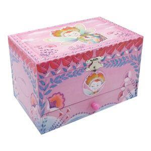 Svoora Μουσικό Κουτί Μπιζουτιέρα με Συρτάρι 'Chloe' Κωδικός: 11135