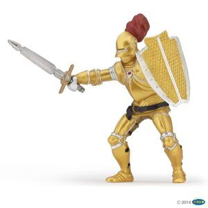 PAPO Knight in gold armour 39778