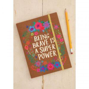 Natural Life -Ημερολόγιο 'BEING BRAVE IS SUPER' 56218