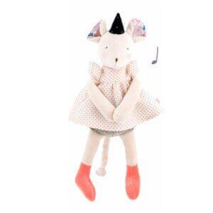 moulin roty 664041 μουσική ποντικίνα 30εκ