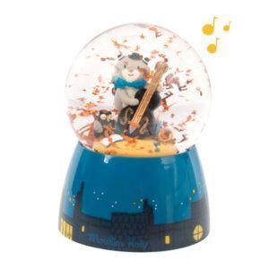 Μουσική χιονόμπαλα Γατούλες Moulin roty 666241