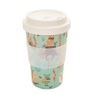 Blue Owl Bamboo Cup E-U32