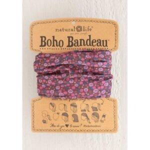 RED FLORAL BOHO BANDEAU® 56588