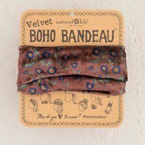 WINE VINE VELVET BOHO BANDEAU® 56798