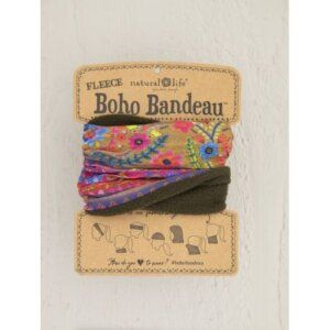 FLEECE MULTI BORDER BOHO BANDEAU® 56934