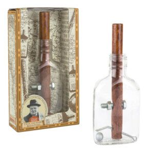 Churchill`s cigar and whisky bottle GM-18 Professor Puzzle
