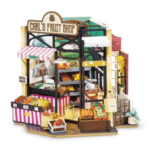 Carl's Fruit Shop Robotime DG142