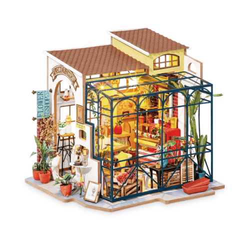 Emily's Flower Shop Robotime DG145