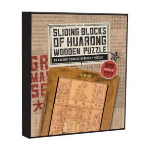 Sliding Blocks of Huarong GRM-11 Professor Puzzle