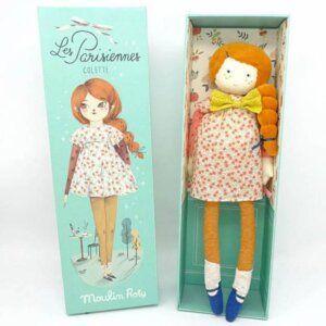 Κούκλα 'Mademoiselle Colette' Les Parisiennes Moulin Roty 642528