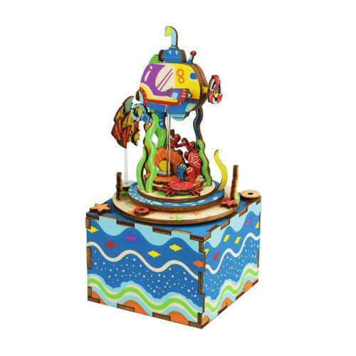 Robotime DIY Under The Sea Music Box Κωδ. AM406