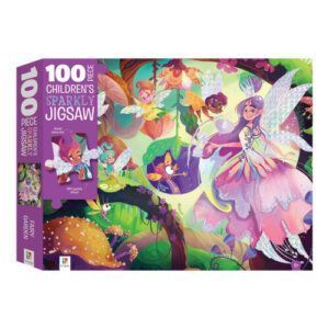 Touch and Feel: Fairy Garden Holographic 100 Piece Jigsaw