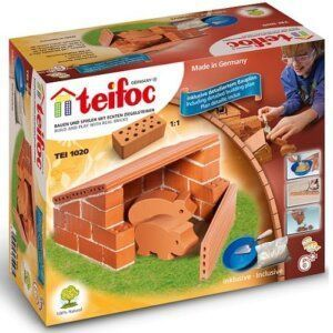 Teifoc Χτίζοντας μινι στάβλο για γουρουνάκια (1020)