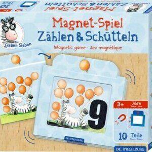 Μαγνητικό Παιχνίδι- Die Lieben Sieben- Κουνάμε & Μετράμε Spiegelburg 16943
