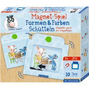 Μαγνητικό παιχνίδι Σχήματα και χρώματα- Die Lieben Sieben- die Spiegelburg 16944