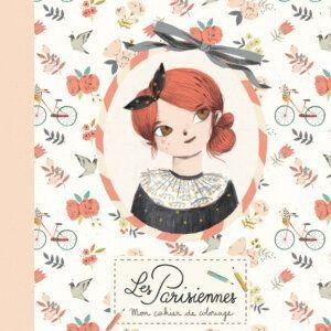 Les Parisiennes colour book zografizo vivlio zografikis moulin roty