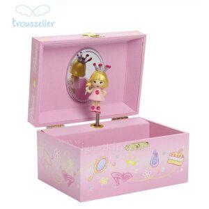 Ροζ Πριγκίπισσα Μουσικό Κουτί - Trousselier 50502