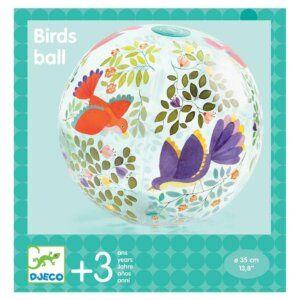 Djeco Μπάλα 'Πουλιά' 35εκ.για την θάλασσα και την εξοχή Κωδικός: 00171