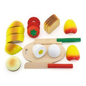Viga Ξύλινα τρόφιμα πρωινού διαίρεσης Κωδικός: 44541