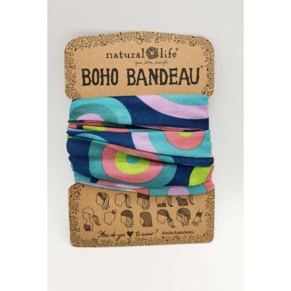 Boho Bandeau Blue Circles NATURAL LIFE 58600