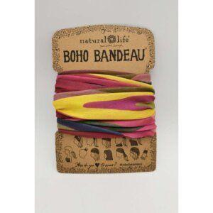 Boho Bandeau Abstract Blue - NATURAL LIFE - 58606