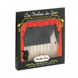Moulin roty 711140 Φιγούρες Θεάτρου Σκιών 3 Γουρουνάκια