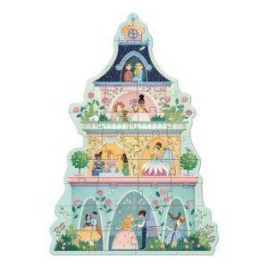 Djeco Παζλ Γίγας 'Ο πύργος της πριγκίπισσας' 36 τεμ. - 90εκ. Κωδικός: 07130