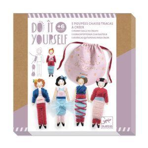 Djeco DIY Φτιάχνω - 5 κούκλες 'Φυλακτό ονείρων' - FSC MIX Κωδικός: 07953