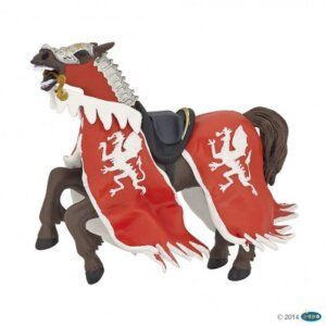 Papo Φιγούρα ' Red Dragon King Horse' 39388
