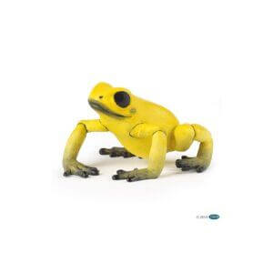 Papo Φιγούρα ' Equatorial Yellow Frog ' 50174