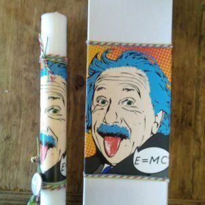 Πασχαλινή Λαμπάδα 'Albert Einstein' 3796-106