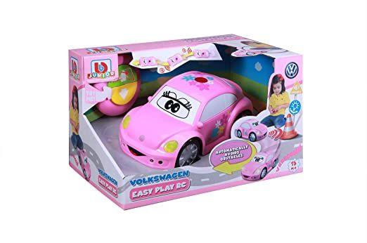 Bburago B16-92003 Νέο Beetle BB Junior VW Volkswagen Easy Play RC Pink
