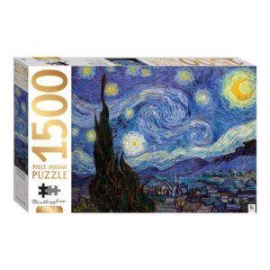 Puzzle 1500 τμχ. -Starry Night - MJG-2