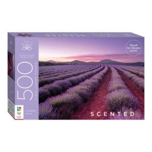Scented Jigsaw Puzzle: Lavender Hills (500pc) - SC-1