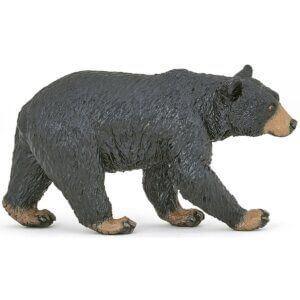 Papo Φιγούρα Αμερικάνικη Μαύρη Αρκούδα 50271