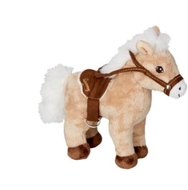 Άλογο λούτρινο μπεζ 30 εκ. - 'die Spiegelburg' cop-16926