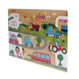 Vehicle Puzzle - iwood - W11014