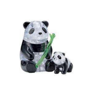 Crystal Puzzle 2 Pandas 3D 90239