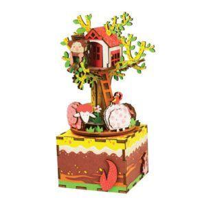 ROBOTIME DIY - TREE HOUSE MUSIC BOX - AM408