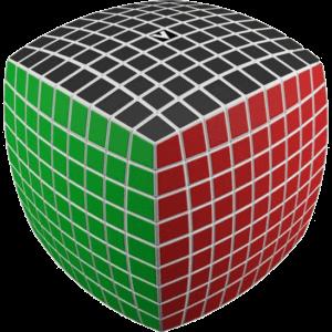 V-Cube 9 White Pillow - V9WP -
