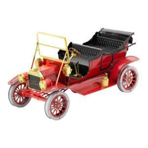 1908 Ford Model-T Red/Gold (2φ) - Metal Earth MMS051C