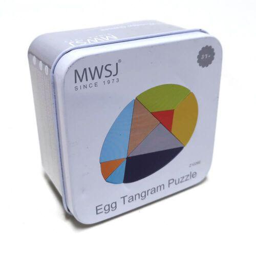 Egg Tangram Puzzle - iwood - Z1026E