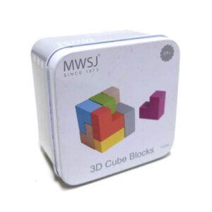3D Cube Blocks - iwood - Z1026J