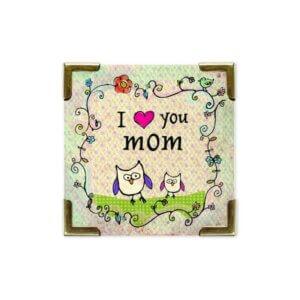 ΜΑΓΝΗΤΑΚΙ - I (heart) you mom - NATURAL LIFE Κωδ. 33164