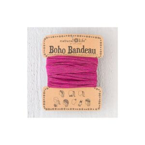Boho Bandeau Spandex Red Grey Κωδ. 51753