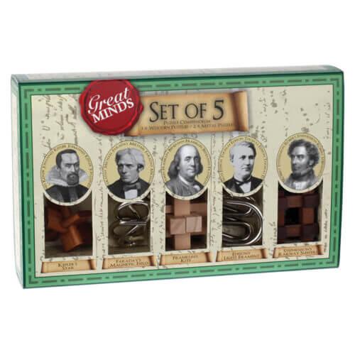 Great Minds Set of 5 - Professor Puzzle- G-5