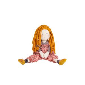 Βανίλια Πάνινη Κούκλα 31 εκ. Les Rosalies Moulin Roty 710537